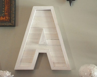 """Letter Wood """"A"""""""