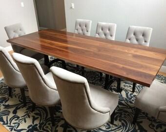 Custom Industrial Aesthetic Dining Table