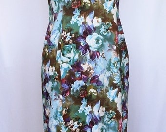 Floral Summer Dress - Size 16
