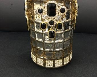 Luxury Vase embellished with Swarovski elements