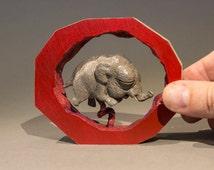 Baby Elephant in Utero