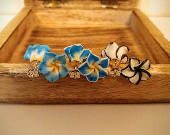 Hawaiian Flower Studs