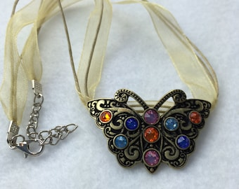 Butterfly Encounter Necklace