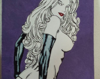 Lady death figure 2