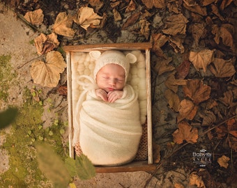 Newborn Photography Prop, Wooden prop, super props, vintage photo props, newborn props, Photography prop, outdoor bed