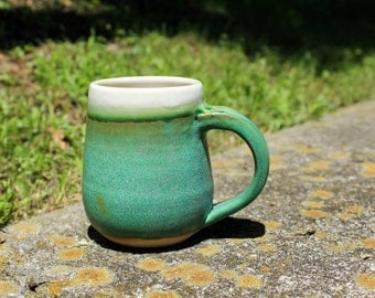 mossy-green mug