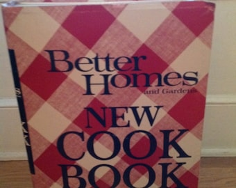 Better homes and garden cook book advertising store display prop point of purchase