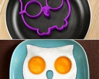 OWL EGG RING - It's a breakfast hoot!