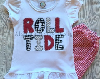 ROLL TIDE Applique Tee