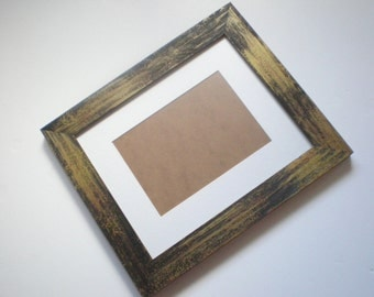 "Picture frame 12x12"" rustic frame photo frame wood frame chunky frame  woodworking crafts chicframeshop"