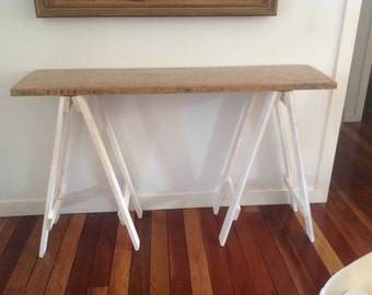 Up Cycle Hall Trestle Table