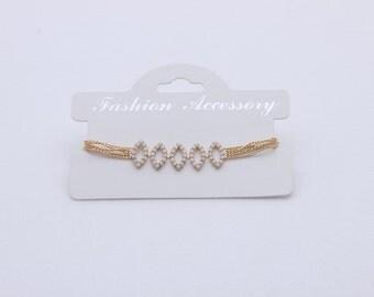 ballchain knitting jewelry