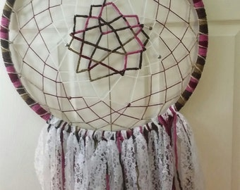 Large Multicolor Bohemian Dream Catcher