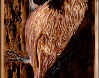 Chickadee on Tree