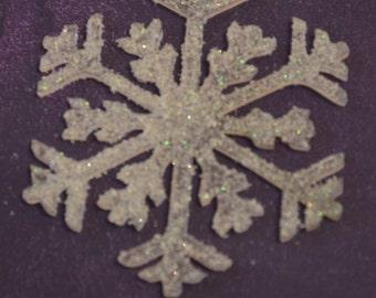 acrylic snowflake Christmas ornament
