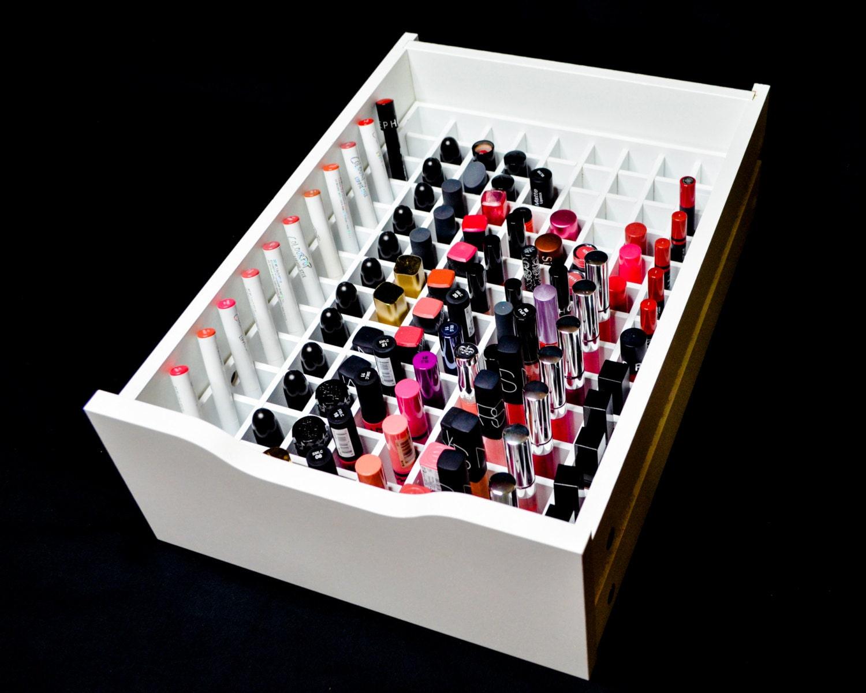 Alex 9 lipstick organizer makeup organizer alex 9 makeup Makeup drawer organizer ikea