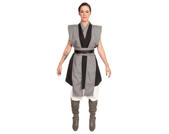 Star Wars Costume Star Wars Tunic BECOME your own JEDI Custom Star Wars  sc 1 st  Etsy : female jedi costume  - Germanpascual.Com