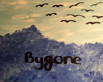 Bygone - Volcano Choir painting