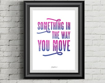 Inspirational Quotes A4 Print
