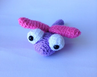 Crocheted animal Annie Dragonfly