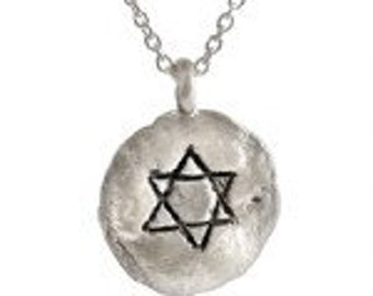 Star of David Pendant- HWN6A