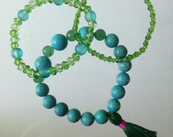 Boho Style Set of Three Bracelets
