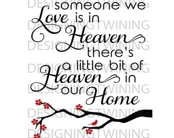 Heaven in our home SVG PNG DXF file
