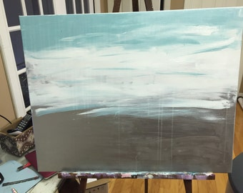 Abstract painting Big Ocean