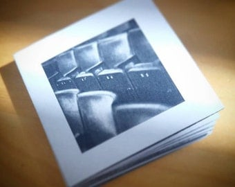 Photo zine: Cube Microplex, 100% recycled paper