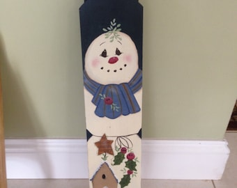 Christmas decorated sleds