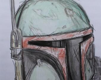 Custom Colored Sketchy Drawing