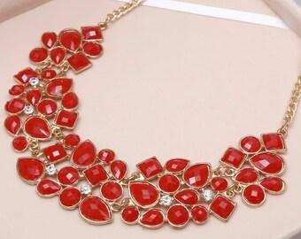 Big pendant necklace