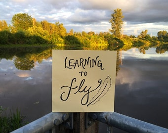 Learning to Fly Canvas