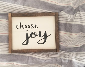 Choose Joy ⋅ Made to Order ⋅
