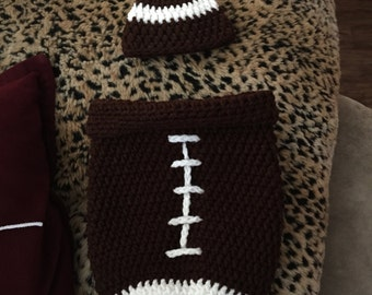 Football Baby cocoon set