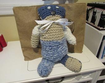 Knitted Teddy Bear
