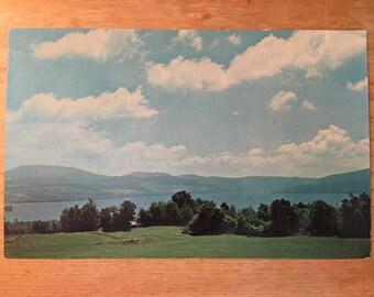 Beautiful View at Rangeley Maine Postcard