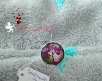 "Ring ""Purple tree"""