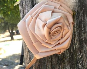 Vintage Rose Headband