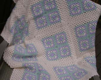 Baby Blanket - Granny Squares