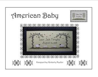 American Baby Cross Stitch Pattern