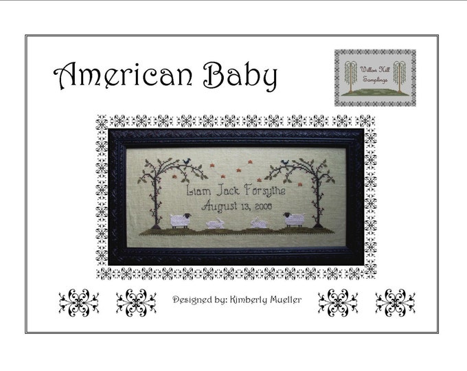 American Baby Cross Stitch Pattern