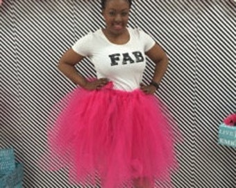 Women's knee-length Tutu