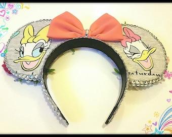 Handmade Daisy Duck Disney Ears