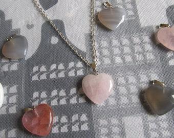 Necklace pendant heart