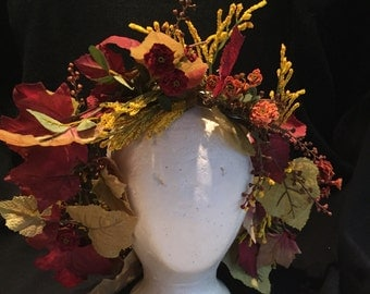 Autumn Fairy Crown