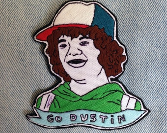 Stranger Things Patch - Dustin