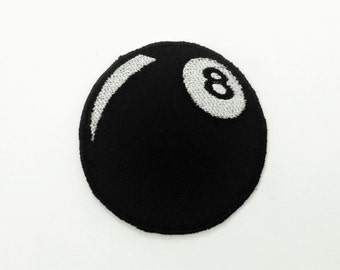 Eight Ball Motorcycle Patch