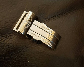 20mm solid stainless steel deployment clasp for breitling watch.Best price