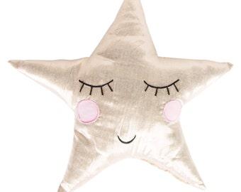 Shining Star Cushion - Sass & Belle Collection. Home decor. Kids room. Gift. Kawaii
